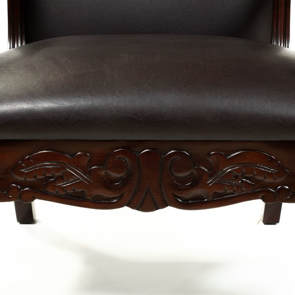 Astonishing Shop Gracewood Hollow Amrouche Antique Dark Cherry Accent Dailytribune Chair Design For Home Dailytribuneorg
