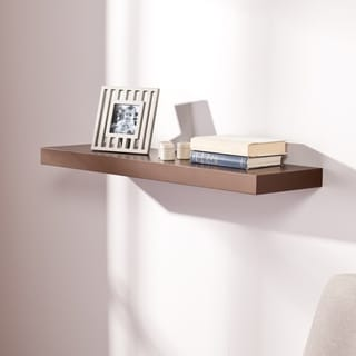 Link to Porch & Den R Street 36-inch Chocolate Finish Floating Shelf Similar Items in Accent Pieces