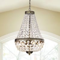 Gracewood Hollow Poradeci Symmetric 6-light Antique Copper Chandelier