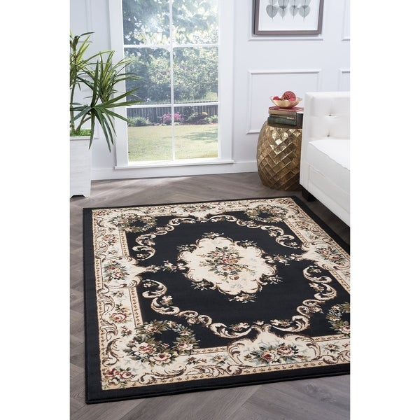 Shop Copper Grove Tunxis Traditional Area Rug 7 6 X 9 10