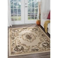 Copper Grove Tunxis Traditional Beige Area Rug - 5' x 7'