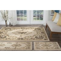 Copper Grove Tunxis 3-piece Beige Traditional Area Rug Set