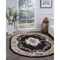 Copper Grove Tunxis Oval Traditional Area Rug - 5'3 x 7'3