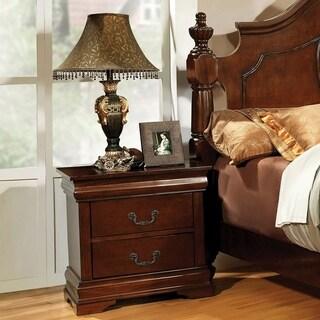 English Style 2-drawer Nightstand