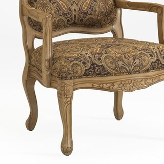 Gracewood Hollow Auxier French Provincial Accent Chair