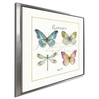 "Link to Lisa Audit ""Rainbow Seeds Butterflies IV"" Giclee Stretched Canvas Wall Art Similar Items in Canvas Art"