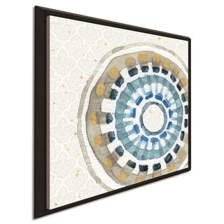 """Lisa Audit """"Indigold XIV"""" Giclee Stretched Canvas Wall Art"""