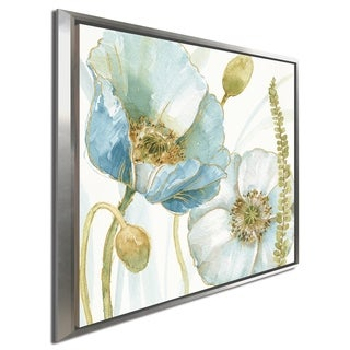 "Lisa Audit ""My Greenhouse Flowers IV"" Giclee Stretched Canvas Wall Art"