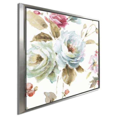 "Lisa Audit ""Beautiful Romance VI"" Giclee Stretched Canvas Wall Art"