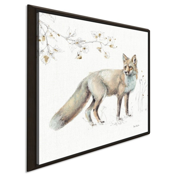 "Lisa Audit ""A Woodland Walk XI"" Giclee Stretched Canvas Wall Art"