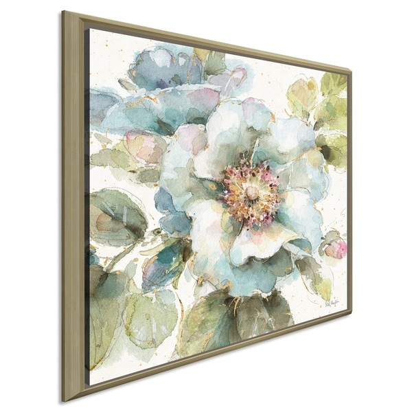"""Lisa Audit """"Country Bloom VII"""" Giclee Stretched Canvas Wall Art"""