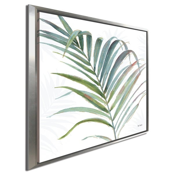 "Lisa Audit ""Tropical Blush V"" Giclee Stretched Canvas Wall Art"