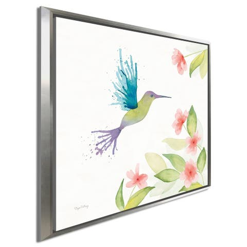 "Elyse DeNeige ""Flit III"" Giclee Stretched Canvas Wall Art"