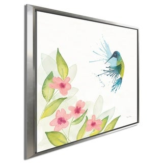 """Link to Elyse DeNeige """"Flit IV"""" Giclee Stretched Canvas Wall Art Similar Items in Canvas Art"""