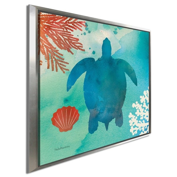 """Studio Mousseau """"Under the Sea II"""" Giclee Stretched Canvas Wall Art"""