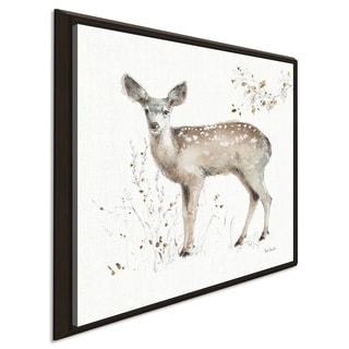 "Lisa Audit ""A Woodland Walk IX"" Giclee Stretched Canvas Wall Art"