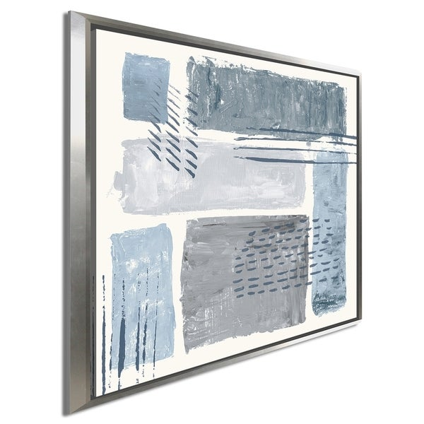 """Sarah Adams """"Between the Lines II"""" Giclee Stretched Canvas Wall Art"""