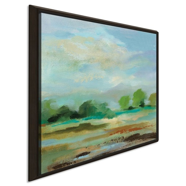 "Silvia Vassileva ""Unexpected Clouds II"" Giclee Stretched Canvas Wall Art"