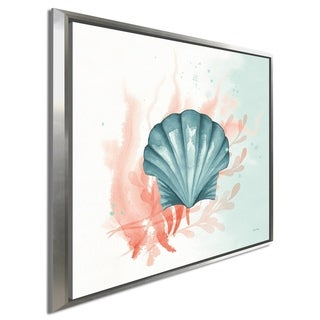 """Link to Elyse DeNeige """"Splash II"""" Giclee Stretched Canvas Wall Art Similar Items in Canvas Art"""