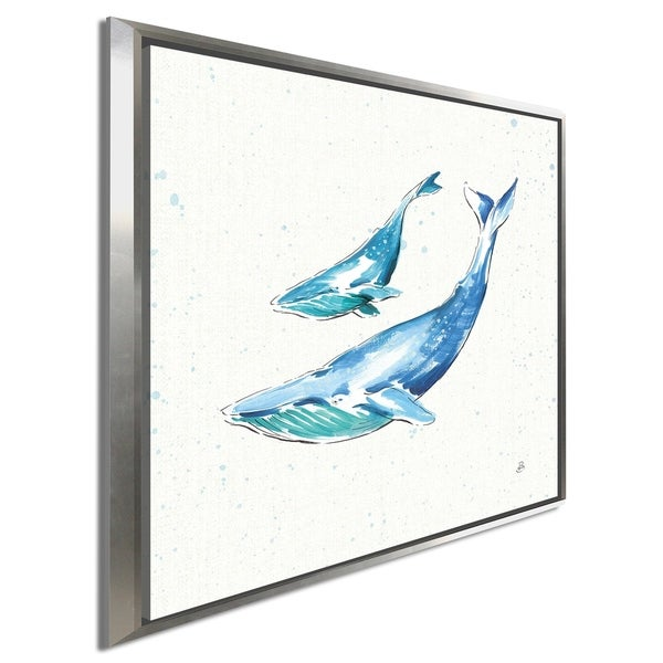 "Daphne Brissonnet ""Maritime VIII"" Giclee Stretched Canvas Wall Art"