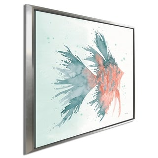 """Link to Elyse DeNeige """"Splash V"""" Giclee Stretched Canvas Wall Art Similar Items in Canvas Art"""
