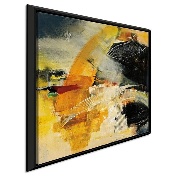 """Jan Griggs """"End of the Rainbow I"""" Giclee Stretched Canvas Wall Art"""
