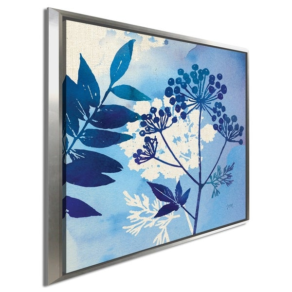 "Studio Mousseau ""Blue Sky Garden I"" Giclee Stretched Canvas Wall Art"