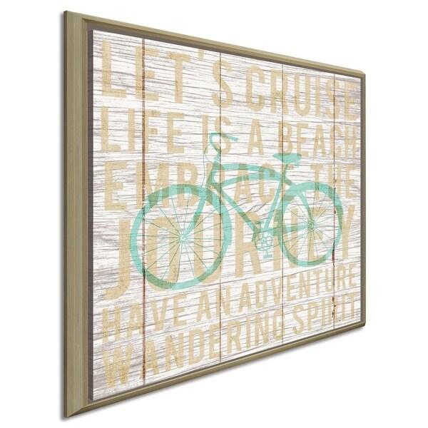 """Michael Mullan """"Bon Voyage Cruiser II"""" Canvas Print in Floating Frame"""