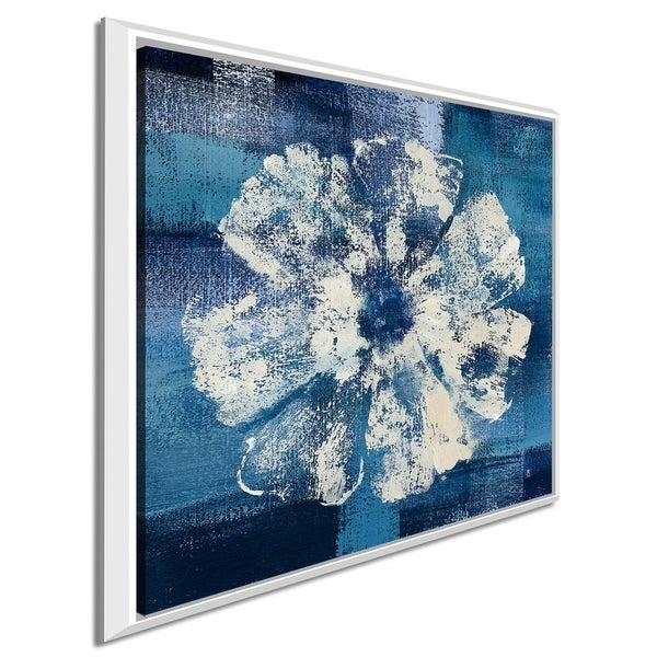 """Studio Mousseau """"Ocean Bloom I"""" Giclee Stretched Canvas Wall Art"""