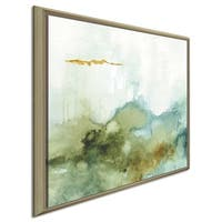 "Lisa Audit ""My Greenhouse Abstract III"" Canvas Print in Floating Frame"
