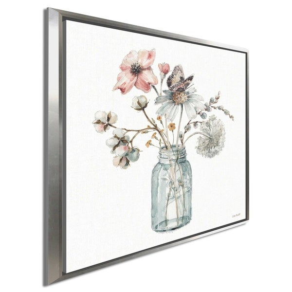 """Lisa Audit """"A Country Weekend IX"""" Canvas Print in Floating Frame"""