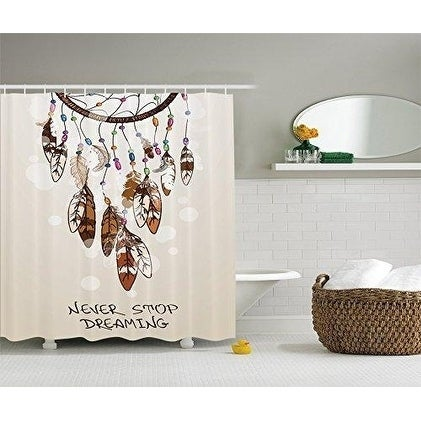 Funny Animal Shower Curtain Wild Portrait