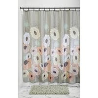 "Daisy Fabric Shower Curtain - 72"" x 72"", Pastel Multi Color"
