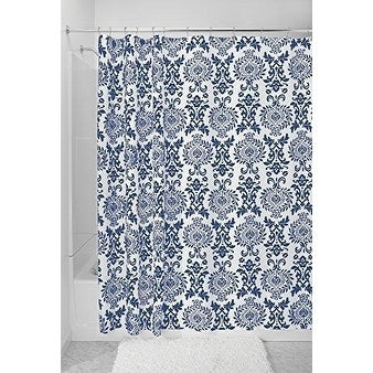Shop Damask Fabric Shower Curtain