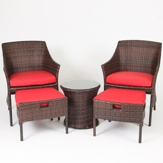 Chair Ottoman Sets Patio Furniture Find Great Outdoor Seating