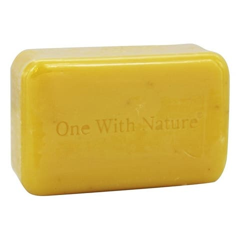 One With Nature 4-ounce Dead Sea Mineral Bar Soap Lemon Verbena