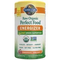 Garden of Life 9.8-ounce Raw Organic Perfect Food Energizer Pomegranate Yerba Mate