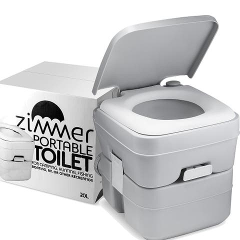 Comfort Portable 5-gal RV Toilet with Detachable Tanks