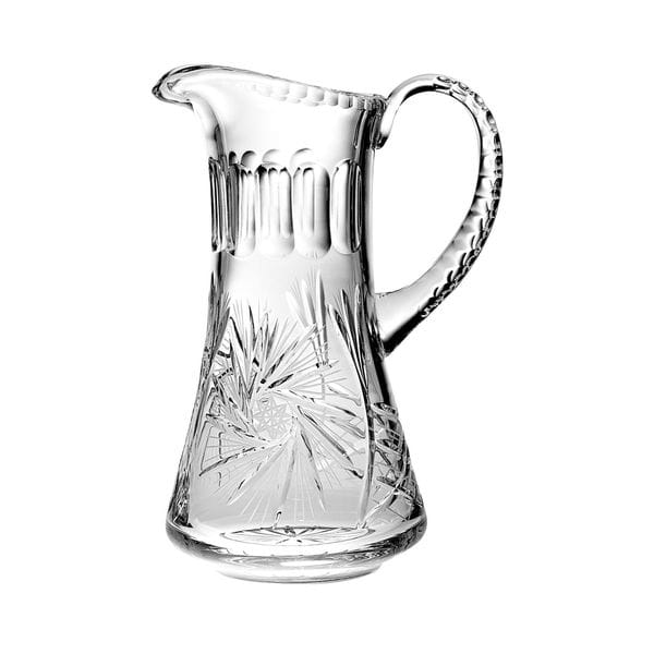 Shop Majestic Gifts Hand Cut Mouth Blown Crystal Pitcher 54oz 11 Height Made In Europe Overstock 20464049