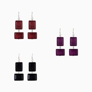 Set of 3 Esmeralda Earrings