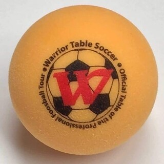 Warrior Table Soccer Pro Game Foos Balls 8 Yellow