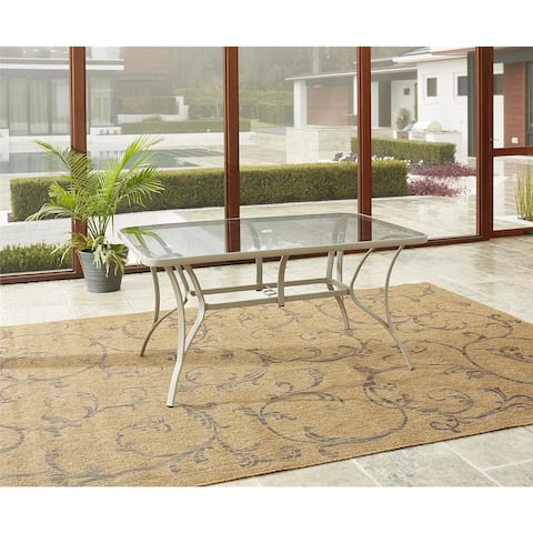 Avenue Greene Grey Outdoor Patio Dining Table