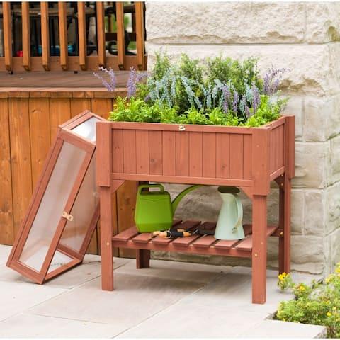 Raised Greenhouse - 4'x6'