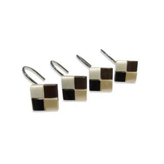 Croscill Mosaic Shower Curtain Hooks