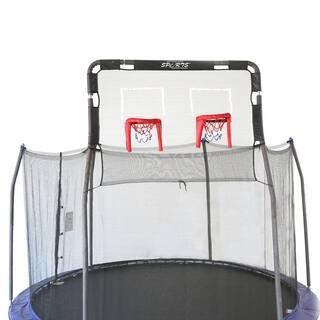 Skywalker Trampolines 12' Trampoline Double Basketball Hoop Accessory