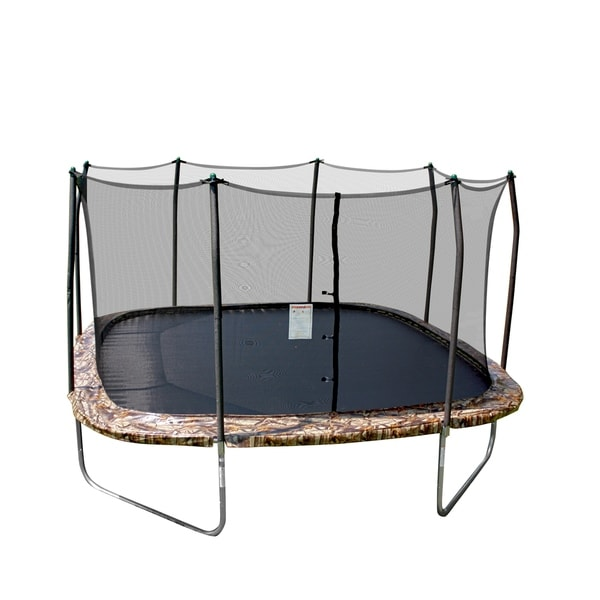 Skywalker 14 Foot Square Trampoline And Enclosure With: Shop Skywalker Trampolines 14' Square Trampoline With
