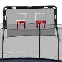 Skywalker Trampolines 15' Trampoline Double Basketball Hoop Accessory
