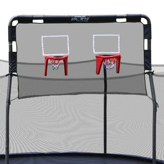 Skywalker Trampolines 15' Trampoline Double Basketball Hoop Accessory