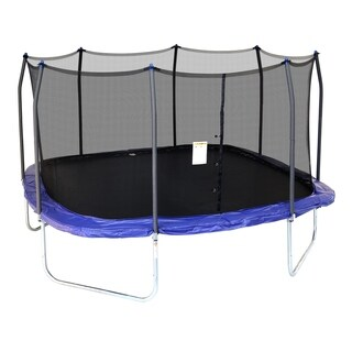 Skywalker Trampolines 14' Square Trampoline with Enclosure - Blue