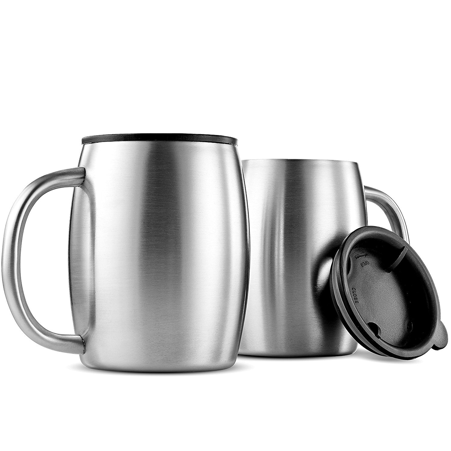 coffee mugs insulated stainless steel best mugs design. Black Bedroom Furniture Sets. Home Design Ideas